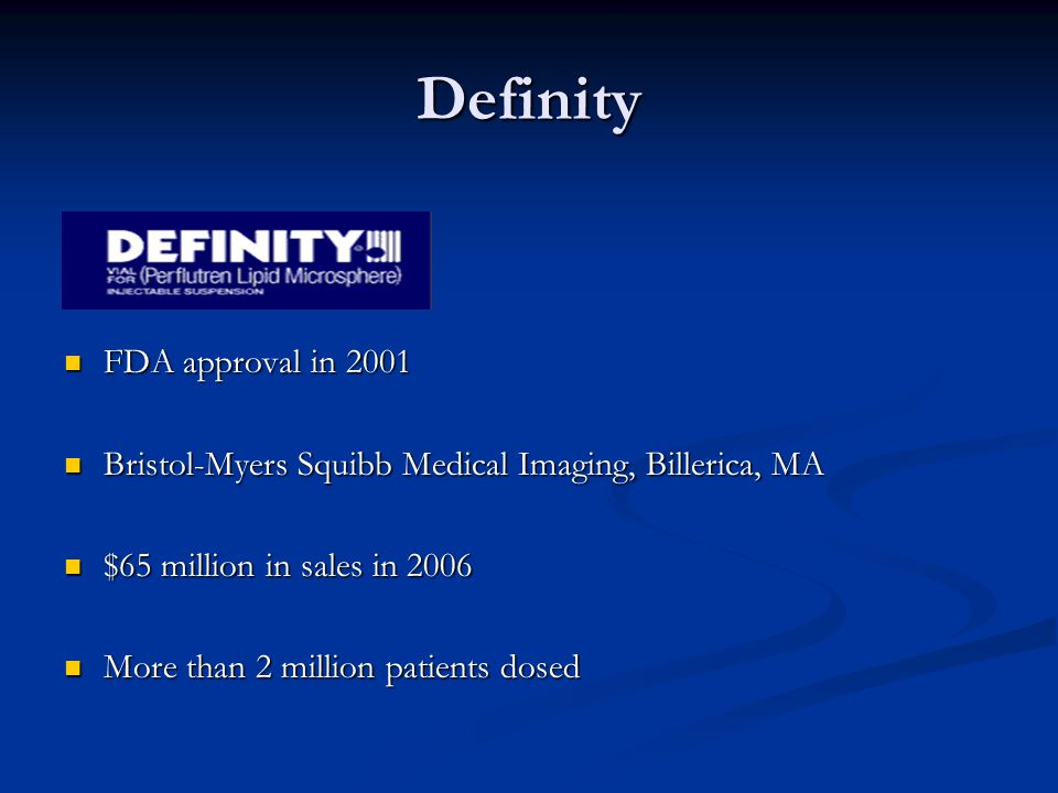 DailyMed - DEFINITY- perflutren injection, suspension