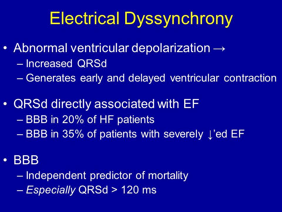 Electrical Dyssynchrony