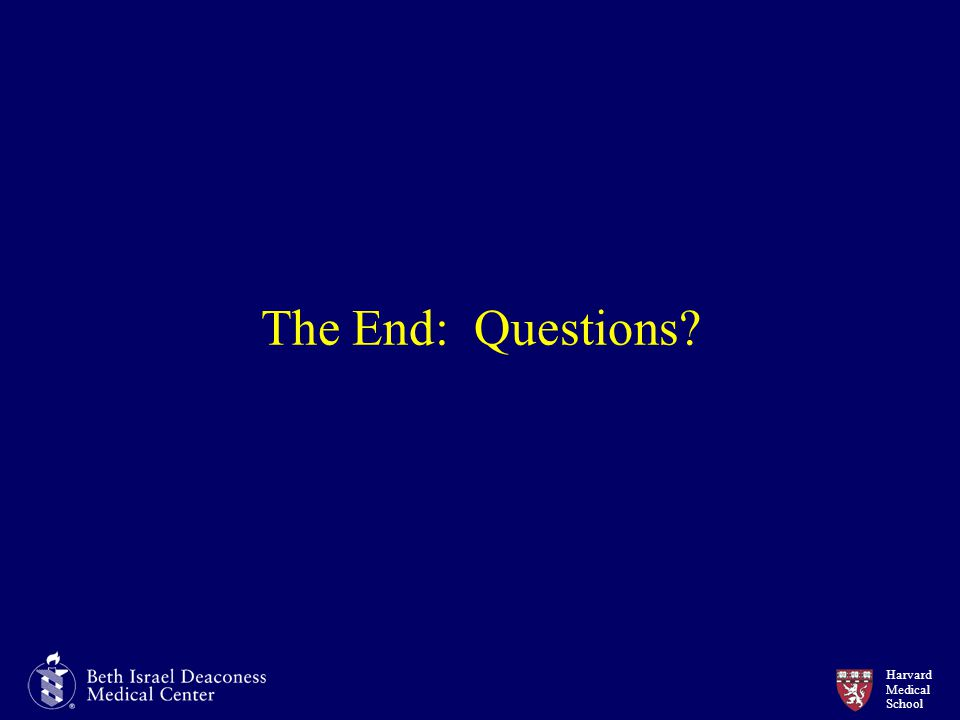 The End: Questions