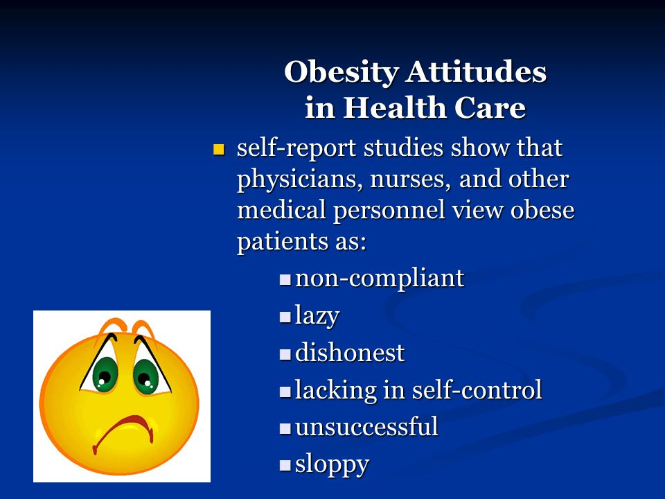 Obesity Attitudes in Health Care