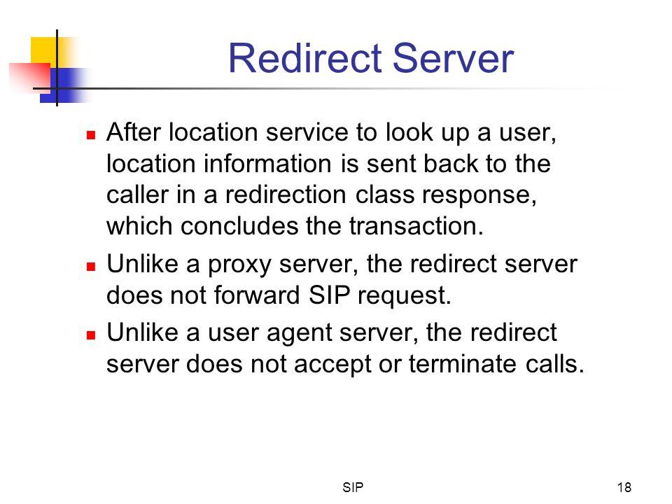 Redirect Server