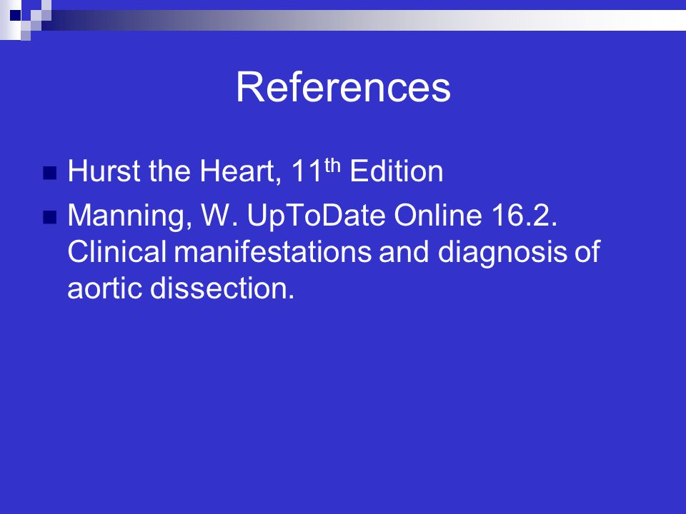 References Hurst the Heart, 11th Edition