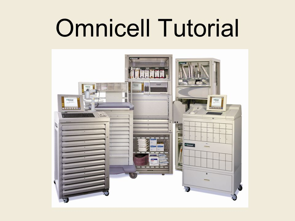 Omnicell Tutorial Ppt Video Online Download