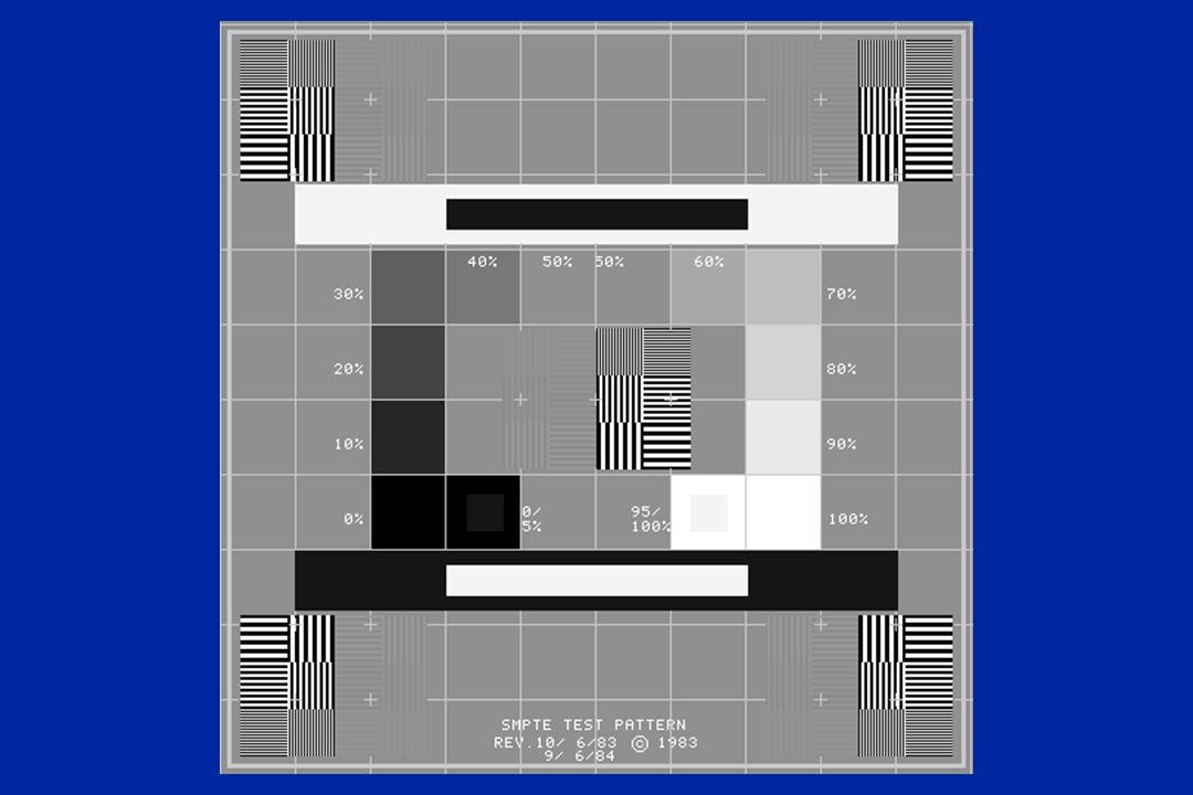 SMPTE test pattern