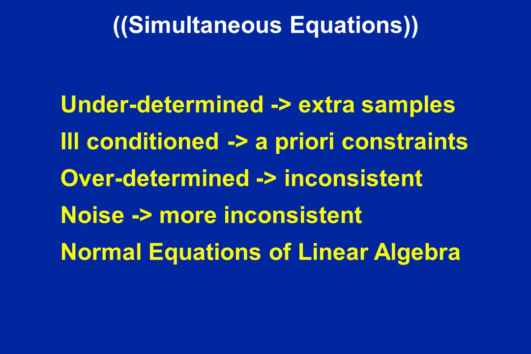 ((Simultaneous Equations))