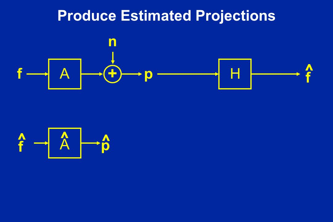 Produce Estimated Projections