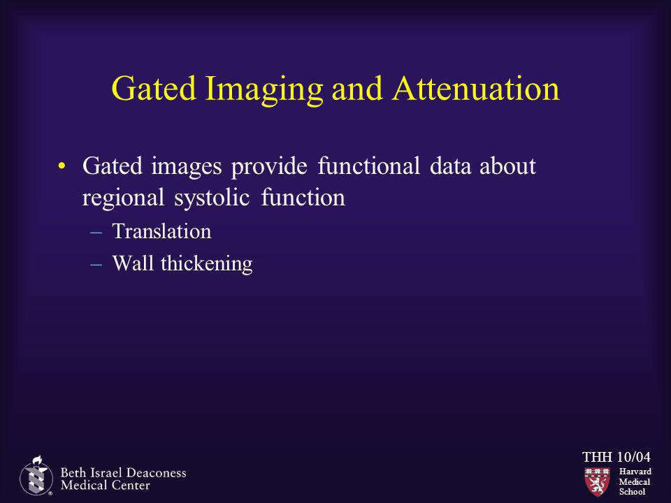Gated Imaging and Attenuation