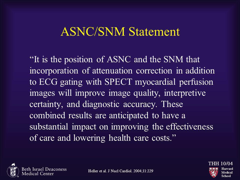 ASNC/SNM Statement