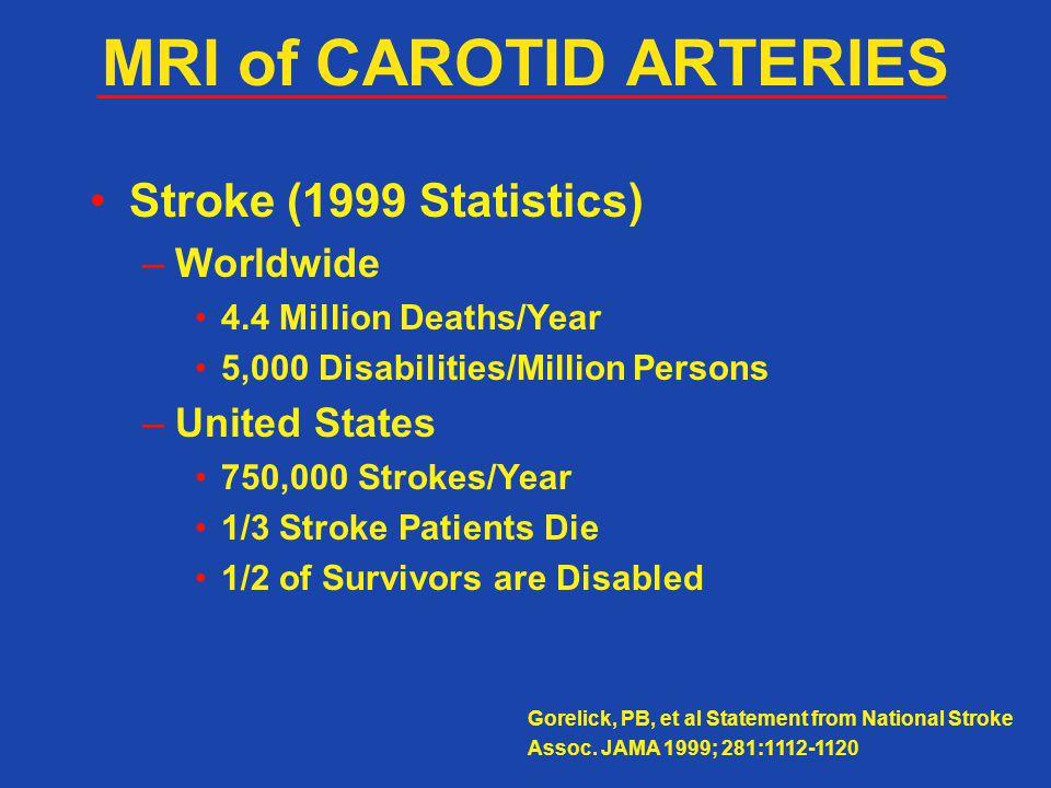 MRI of CAROTID ARTERIES
