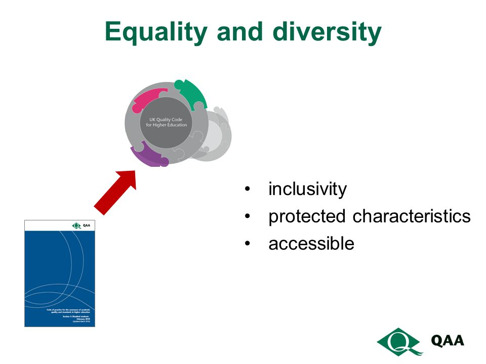 Equality and diversity