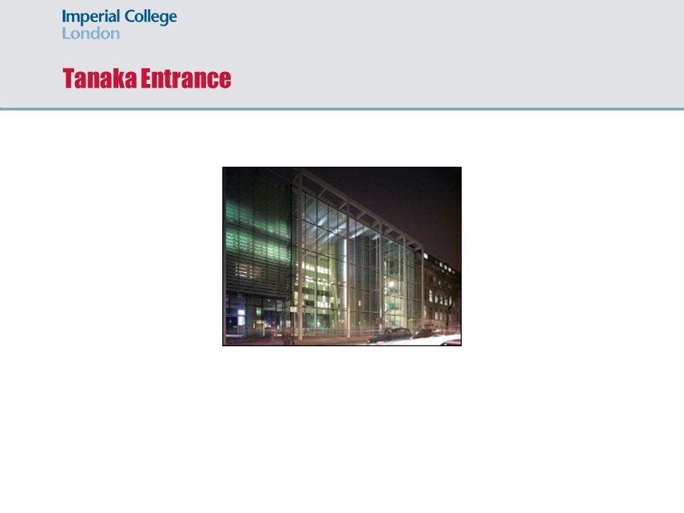 Tanaka Entrance