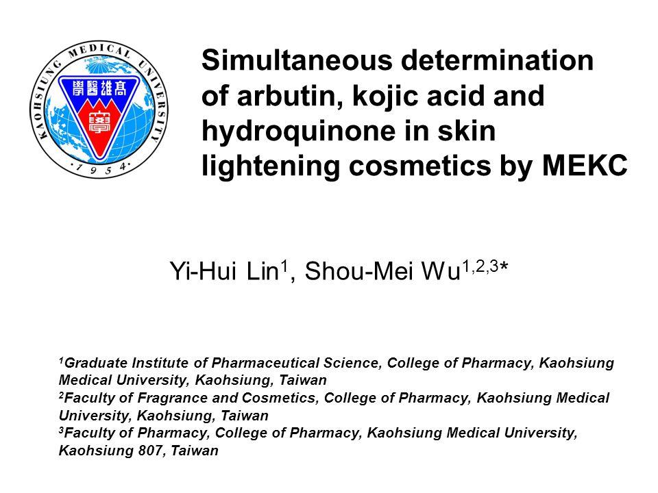 Yi-Hui Lin1, Shou-Mei Wu1,2,3*