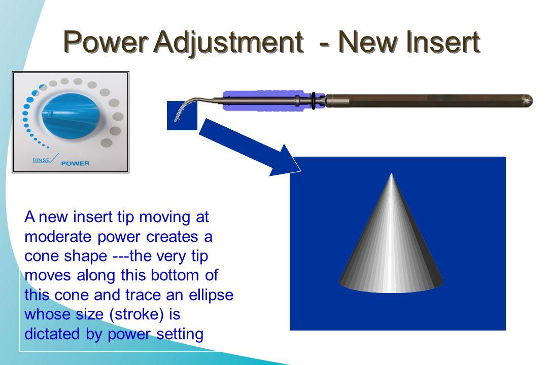 Power Adjustment - New Insert