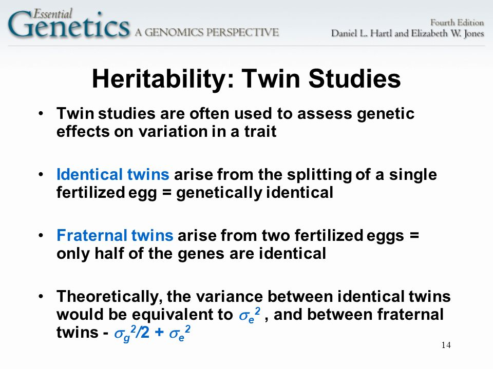 heritability twin and behavioral genetics research The heritability of human behavioral traits is now well established, due in large measure to classical twin studies we see little need for further studies of the heritability of individual traits in behavioral science, but the twin study is far from having outlived its usefulness the existence of.