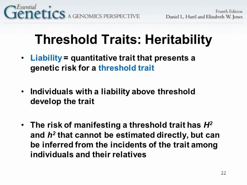 Threshold Traits: Heritability