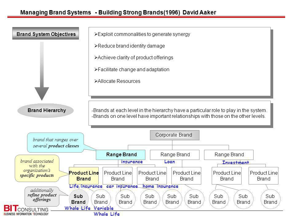 Managing Brand Systems - Building Strong Brands(1996) David Aaker
