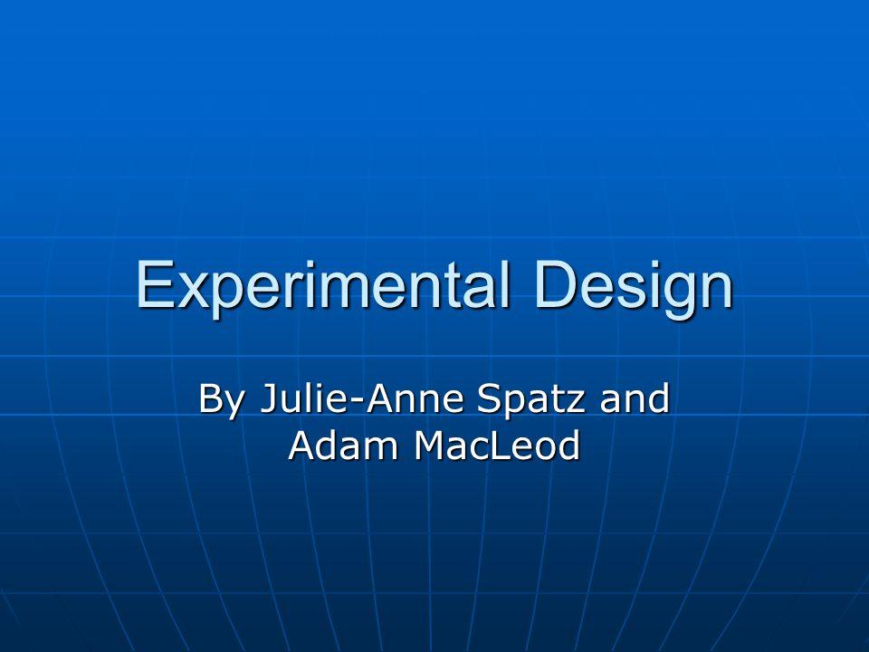 By Julie-Anne Spatz and Adam MacLeod
