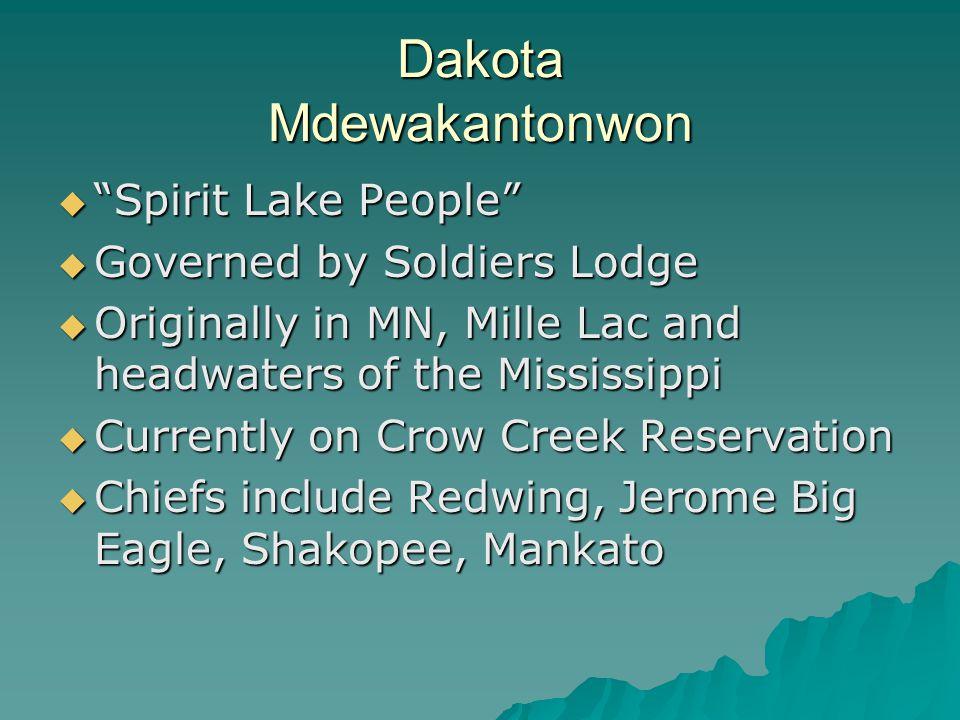 Dakota Mdewakantonwon