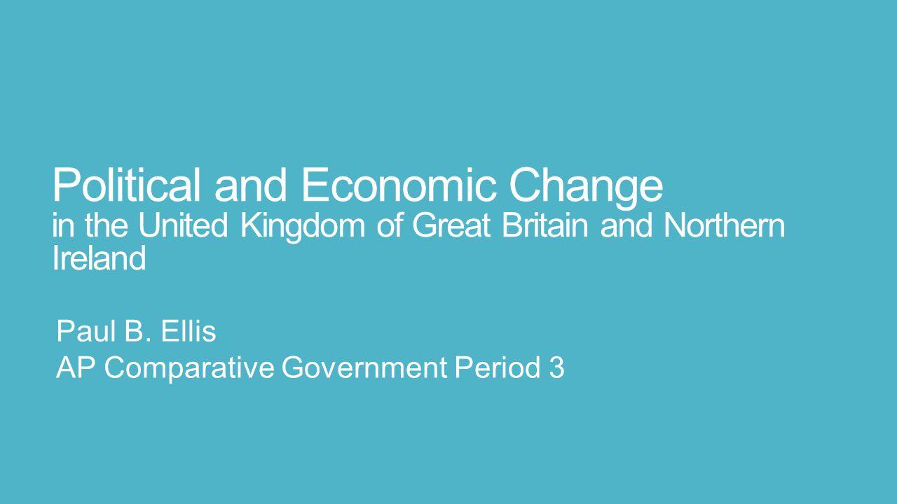 Paul B. Ellis AP Comparative Government Period 3