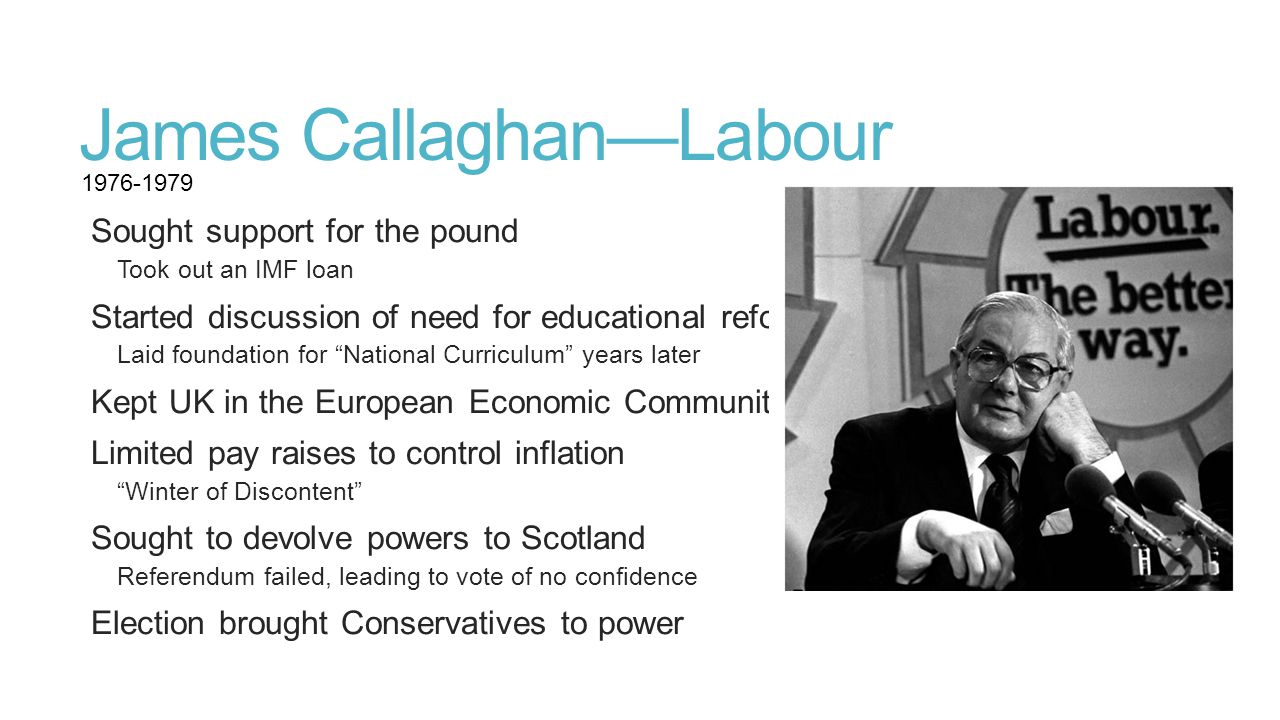 James Callaghan—Labour
