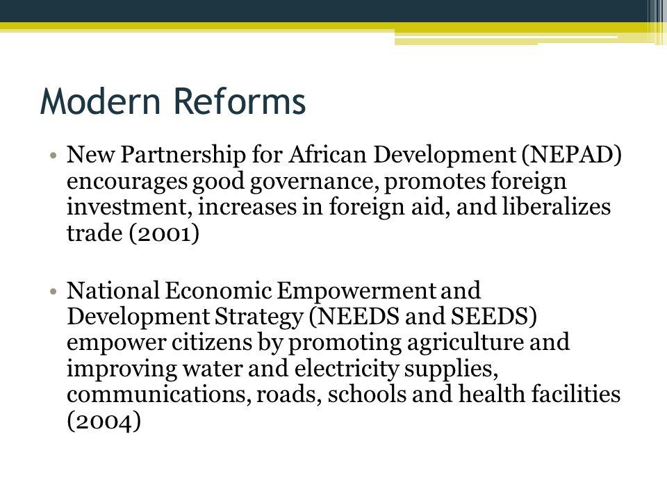 Modern Reforms