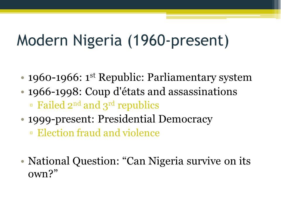 Modern Nigeria (1960-present)