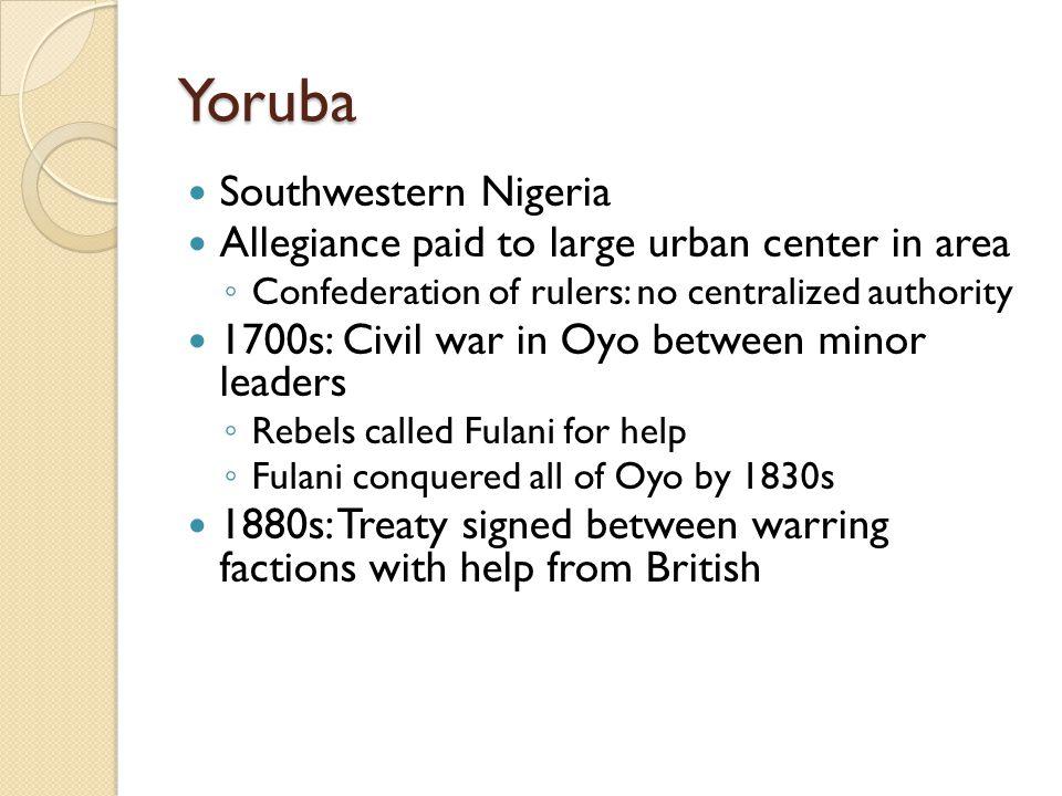 Yoruba Southwestern Nigeria