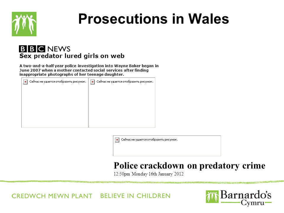 Prosecutions in Wales Police crackdown on predatory crime