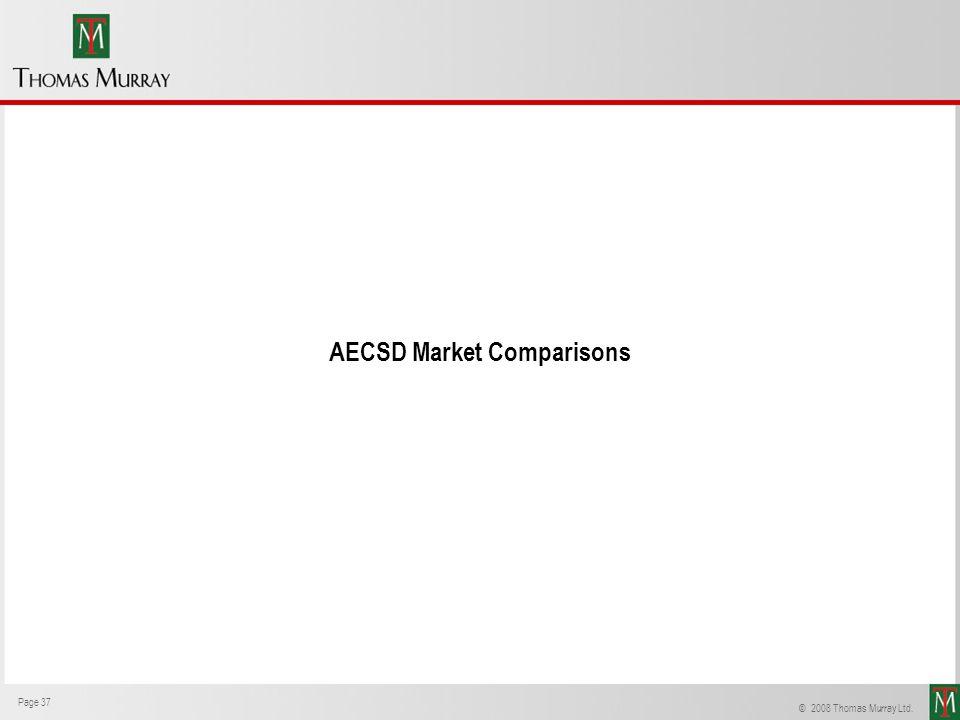 AECSD Market Comparisons
