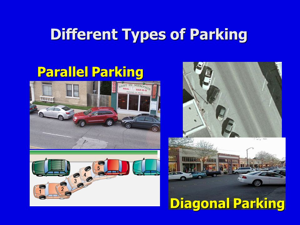 Different Types of Parking