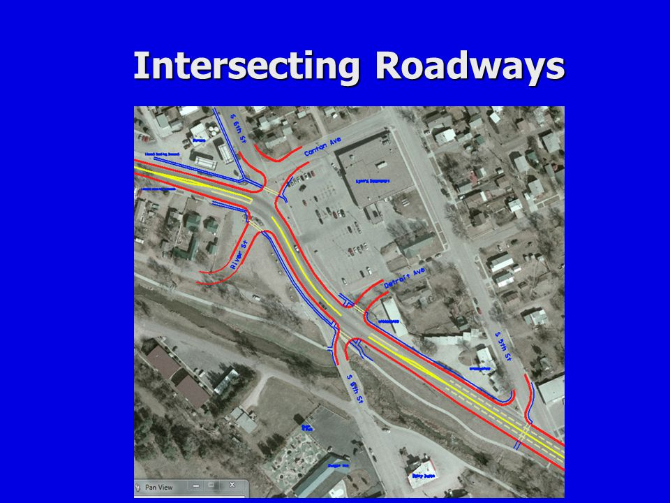 Intersecting Roadways