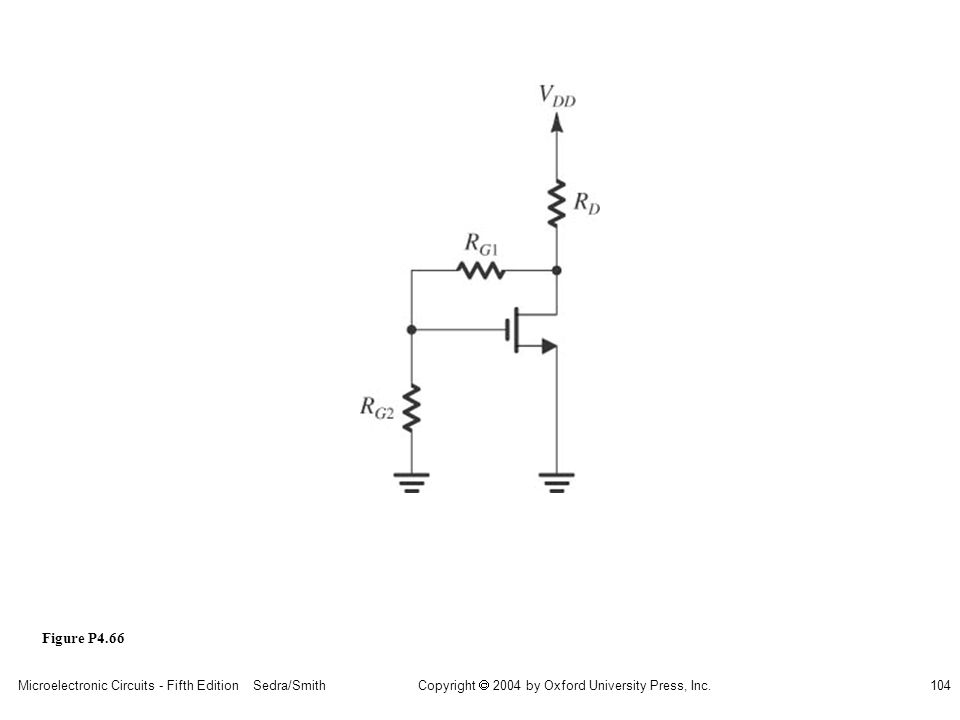 sedr42021_p04066.jpg Figure P4.66 Microelectronic Circuits - Fifth Edition Sedra/Smith