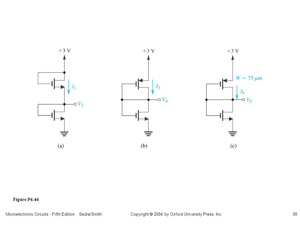 sedr42021_p04046a.jpg Figure P4.46 Microelectronic Circuits - Fifth Edition Sedra/Smith