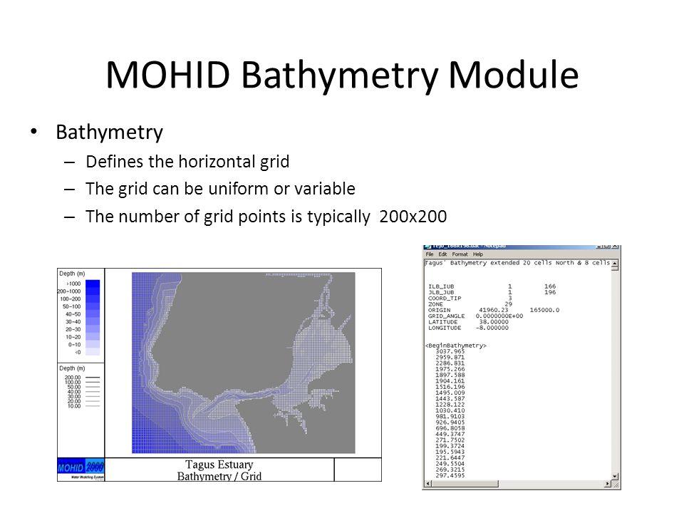 MOHID Bathymetry Module