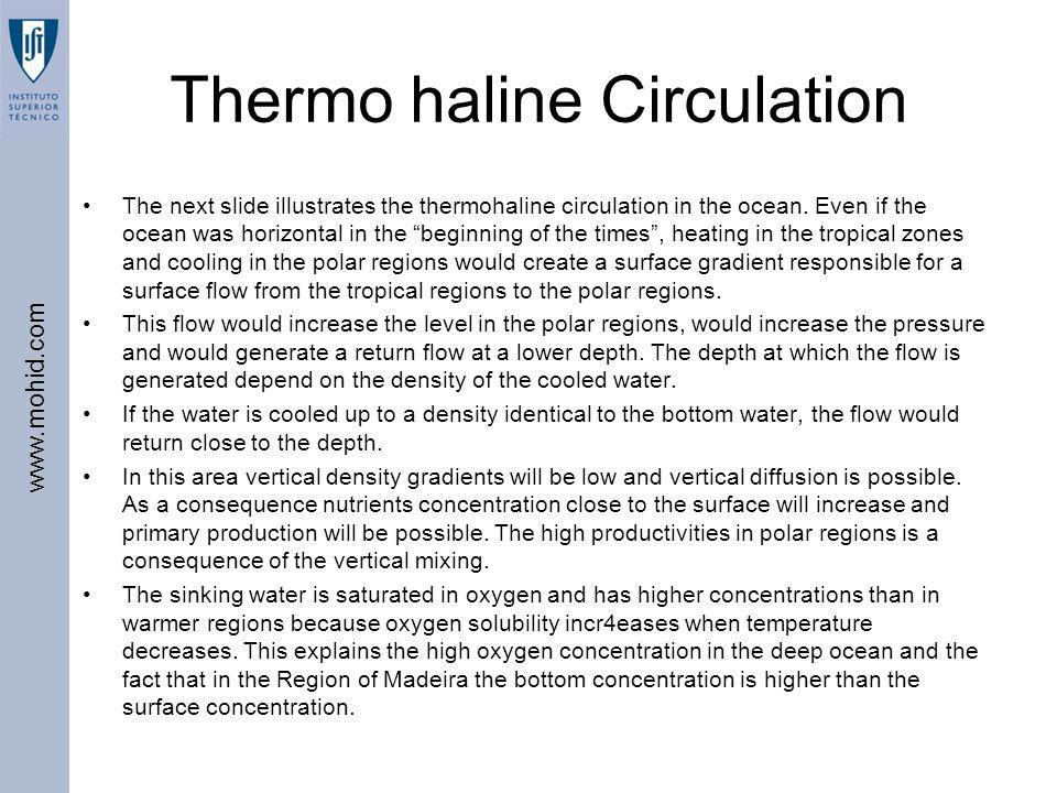 Thermo haline Circulation