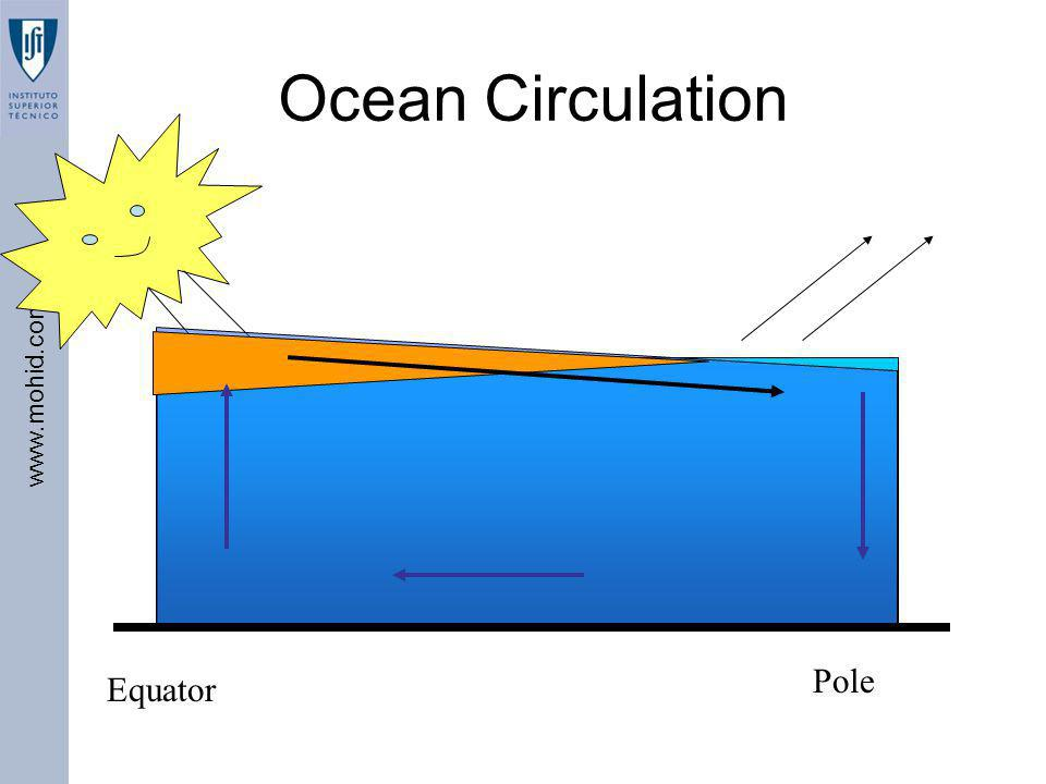 Ocean Circulation Pole Equator