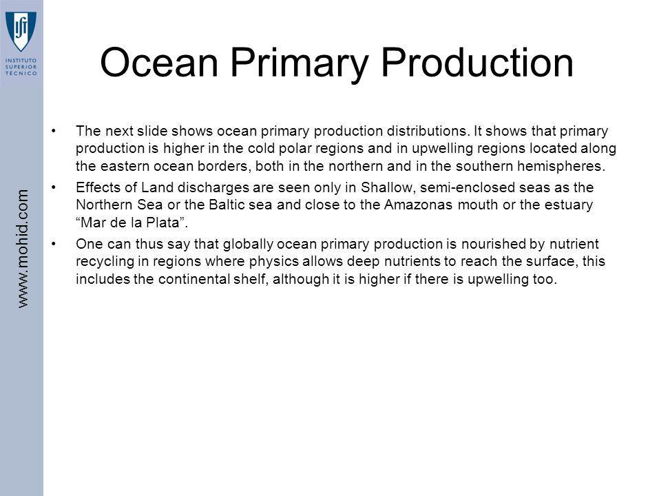 Ocean Primary Production
