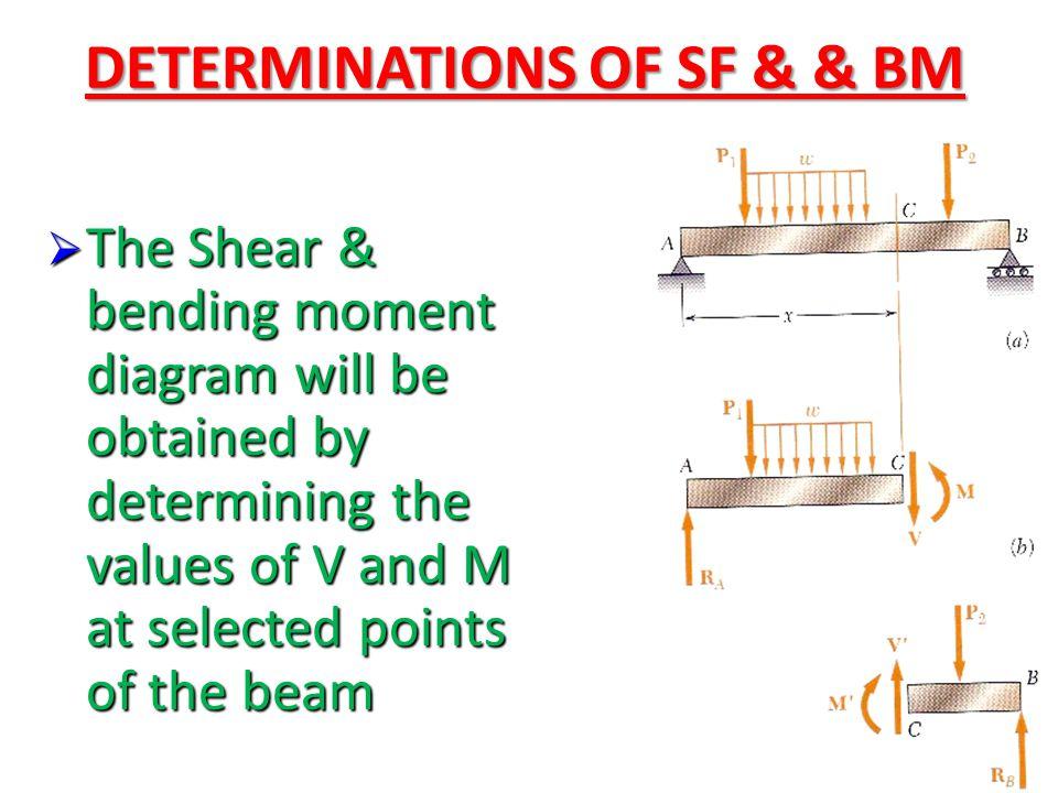 DETERMINATIONS OF SF & & BM