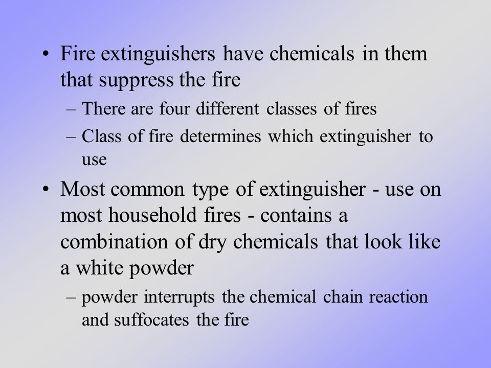 Just like matches and lighters are not toys, a fire extinguisher is not a toy