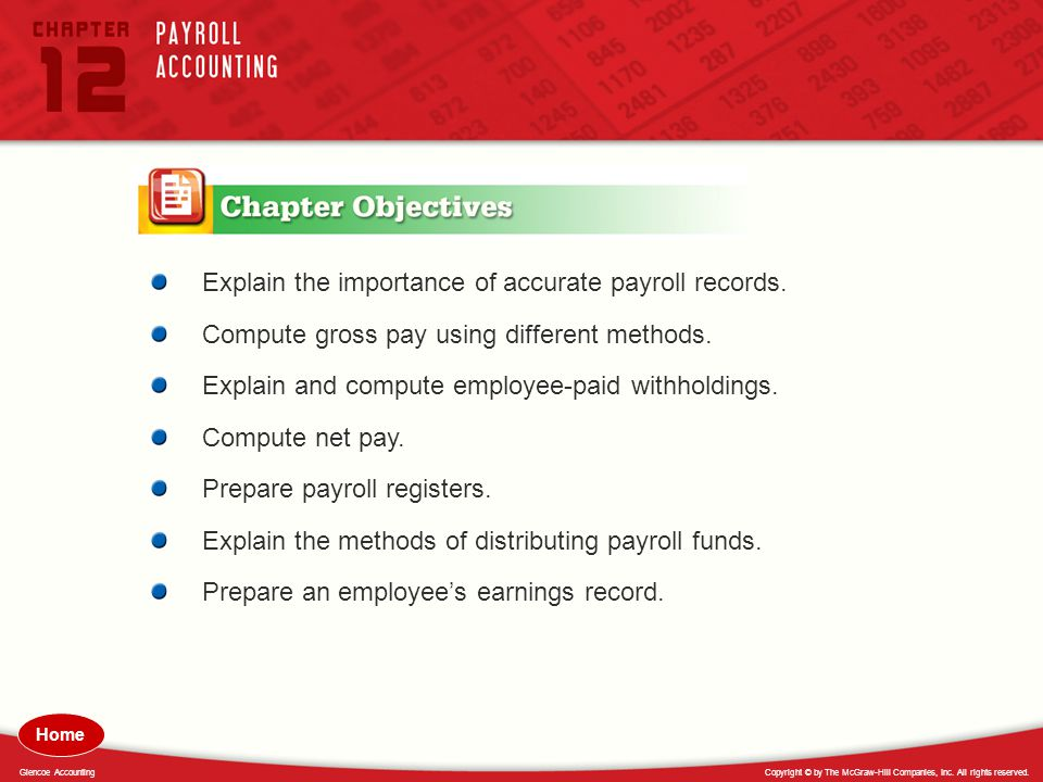 Explain the importance of accurate payroll records.