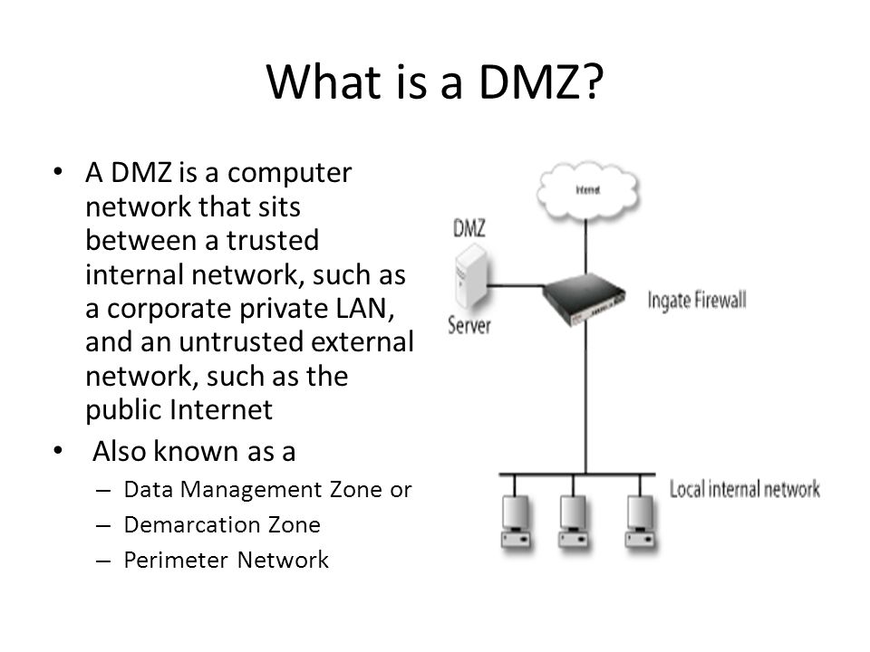 What is a DMZ