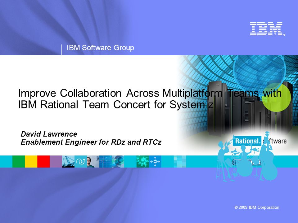 David Lawrence Enablement Engineer for RDz and RTCz