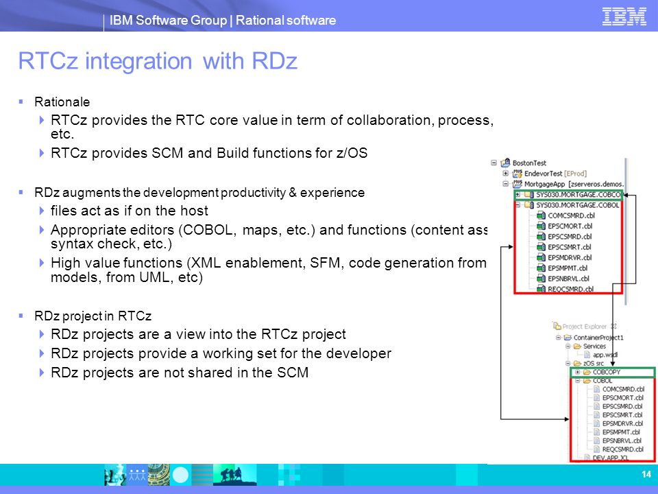 RTCz integration with RDz
