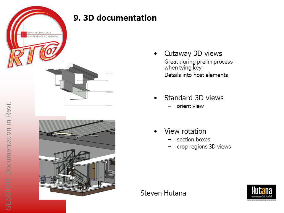 SESSION: Documentation in Revit
