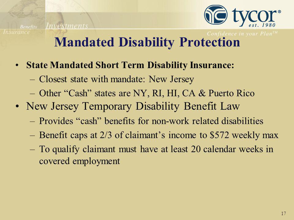 Mandated Disability Protection