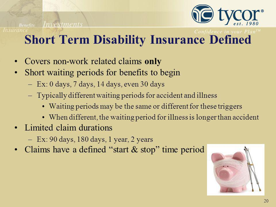 Short Term Disability Insurance Defined