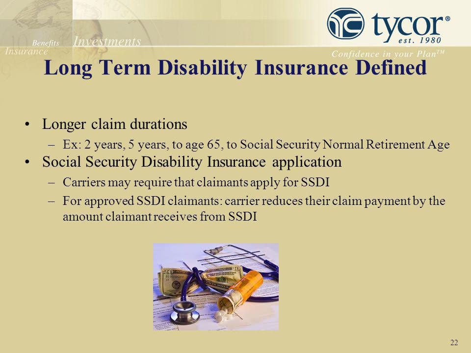 Long Term Disability Insurance Defined