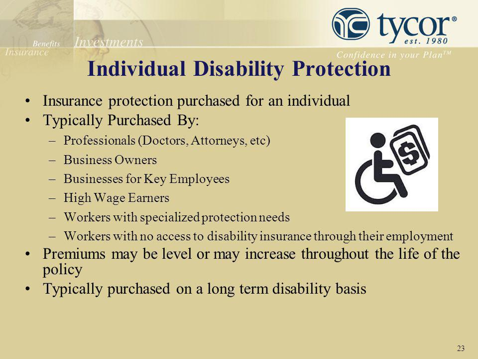 Individual Disability Protection