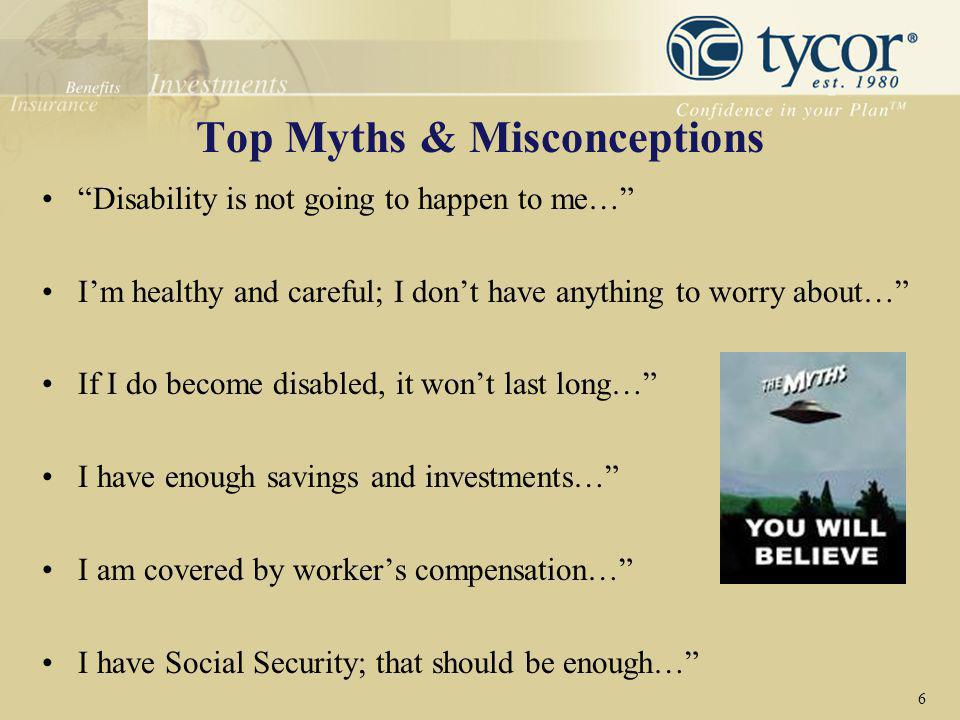 Top Myths & Misconceptions