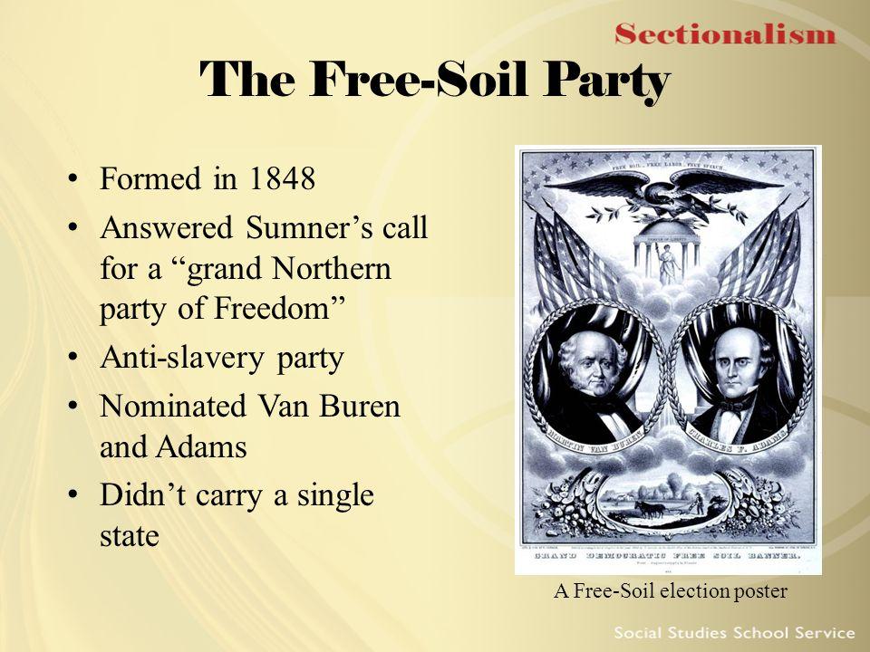 A Free-Soil election poster